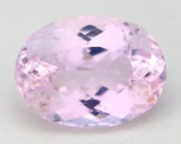Kunzite 8.98Ct VVS Oval Cut Natural Pakistan Pink Kunzite B2009