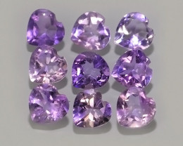 3.80 CTS NATURAL ULTRA RARE  HEART SHAPE PURPLE AMETHIYST GEM!!