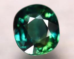 Unheated Sapphire 1.00Ct Natural Peacock Sapphire E2021/B9