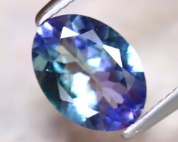 Tanzanite 1.04Ct Natural VVS Purplish Blue Tanzanite E2022/A45