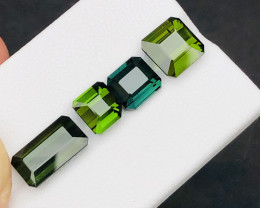 Brilliant Color 11.10 Ct Natural  Tourmaline lot