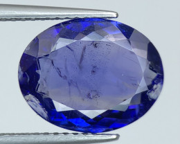 ~No Reserve~6.05 ct Nice color Included Yet Attractive Big Size Tanzanite