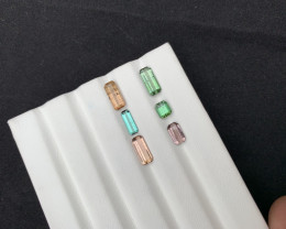 7.40  Carats Tourmaline Gemstones Lot