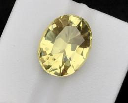Brilliant Color 9.30 Ct  Natural Citrine gemstone