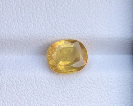 Top Grade 2.00ct lovely Yellow Sapphire Ring Size