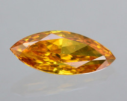 Fantastic!! 0.09 Cts Natural Untreated Diamond Fancy Yellow Marquise Africa
