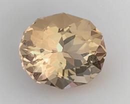 Strong Color Saturation - Luminous Peach Morganite - Brazil