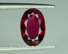1.10 ct Natural Pinkish Red Tourmaline