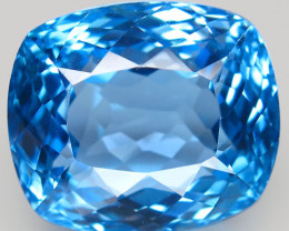 38.36  ct.100% Natural Earth Mined Top Quality Blue Topaz Brazil