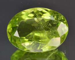 5.28 CTS Natural Green Peridot Gem