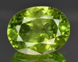 8.75 CTS Top Green Peridot Gem