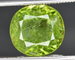 5.63 CTS Green Peridot Gem
