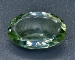 27.54 Crt Prasiolite Green Amethyst Faceted Gemstone (Rk-5)