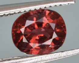 Natural Pinkish Red Color Spinel 0.76 CTS Gem