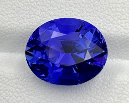 8.20 CT Tanzanite Gemstone German cutting top luster