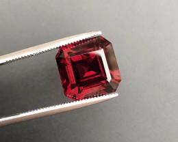 Top Grade 7.75 ct Fancy Cut Red Garnet~KS