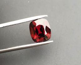 Top Grade 4.00 ct Fancy Cut Red Garnet~KS
