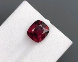 Top Grade 5.55 ct Fancy Cut Red Garnet~KS