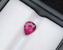 Top Grade 0.85 ct lovely Garnet Ring Size~Q