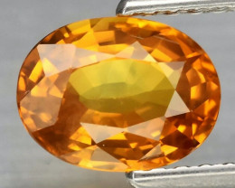 1.29 ct 7.5x5.5mm VS Oval Natural Yellow Sapphire, Thailand