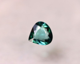 1.68ct Natural Green Tourmaline Pear Cut Lot V8855