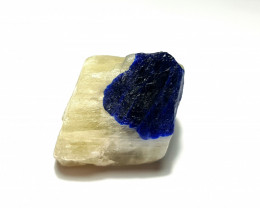 Amazing Natural color Lapis Lazuli Specimen 72Cts-A