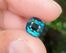 UNTREATED 3.42 CTS NATURAL TOP QUALITY VVS TO IF INDICOLITE BLUE TOURMALINE