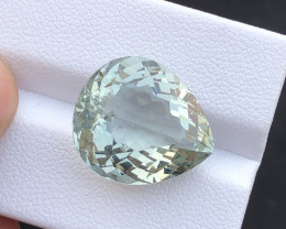 14.55 carats natural aquamarine beryl gemstone