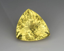 Top Grade 11.49 Cts  Natural Heliodor Beryl Gemstone