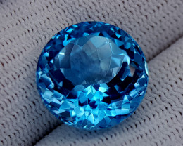 17.45CT BLUE TOPAZ BEST QUALITY GEMSTONE IIGC42