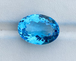 Natural Sky Blue Topaz 19.20 Cts Good Luster