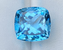 Natural Sky Blue Topaz 16 Cts Good Luster