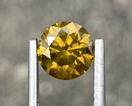 1.65 CT yellow Diamond Gemstones reserve price 799$