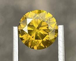 2.00 CT yellow Diamond Gemstones reserve price 999$