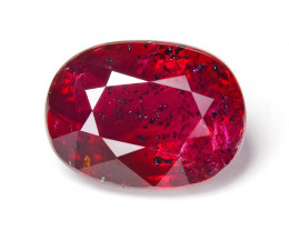 AIGS Certified Ruby 2.02 Cts Pigeon Blood Natural Gemstone