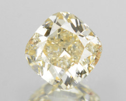 *No Reserve*Diamond 0.23 Cts Untreated Light Yellow Color Natural