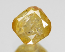 *NoReserve*Diamond 0.32 Cts Untreated Deep Greenish Yellow Color Natural