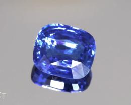 Fine Bright Blue Sapphire - Cushion - 6.00ct - Eye Clean Gem - Srilanka (He