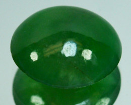 UNTREATED~ 1.31 Cts Natural Burmese Jade Oval Cabochon