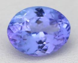 2.13Ct VVS Oval Cut Natural Purplish Blue Tanzanite C2102