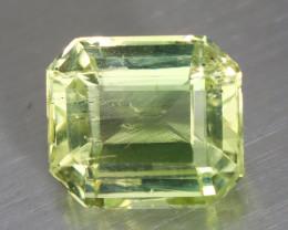 2.695 CT BERYL YELLOWISH GREEN 100% NATURAL UNHEATED