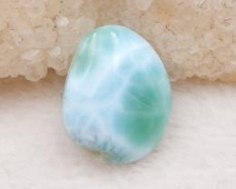 7.5cts Blue Larimar Cabochon Bead,Birthday Stone ,Healing Stone D1235