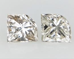 0.33  cts White Natural Diamond , Unique Shaped Diamond