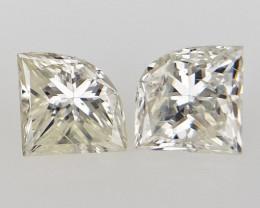 0.31 cts White Natural Diamond , Unique Shaped Diamond