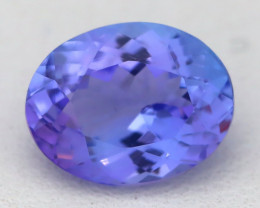 2.20Ct VVS Oval Cut Natural Vivid Purplish Blue Tanzanite C2117