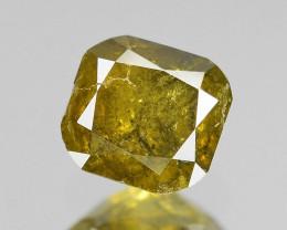 *No Reserve* Diamond 0.23 Cts Untreated Natural Fancy  Greenish Yellow Diam