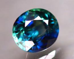 Unheated Sapphire 0.95Ct  Natural Peacock Sapphire E2206/B9