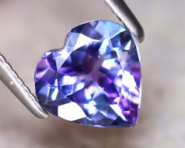 Tanzanite 1.20Ct Natural VVS Purplish Blue Tanzanite E2216/A45