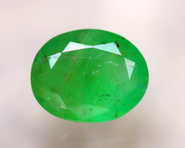 Emerald 2.20Ct Natural Zambia Green Emerald  E2217/A38
