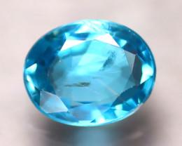 Blue Zircon 3.36Ct Natural Cambodian Blue Zircon E2223/B6